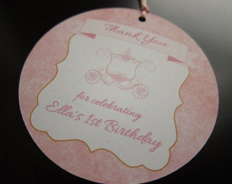 Carriage Favor/Gift Tag