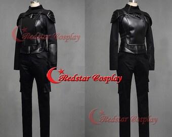 Hunger Games 3 Mockingjay Part 1 Katniss Everdeen Cosplay Costume