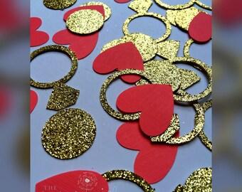 Engagement confetti, Engagement Decorations, Engagement Party, Engagement Party Decorations, Rings, Engagement ring decorations