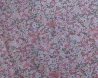 Small Floral Cotton Fabric BTY