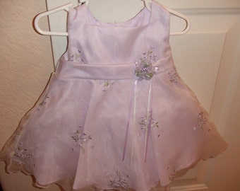Lilac Girls Party Dress - 12 Mos.