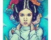 Flowers for Princess Leia