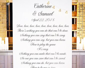 Your Own Words Personalized Photo Booth Backdrop (ENWF-JM8822)