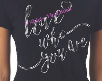 Love Who You Are Tee