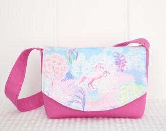 Little Girls Bag / Shoulder Bag / Handbag / Kids Bag / Unicorns