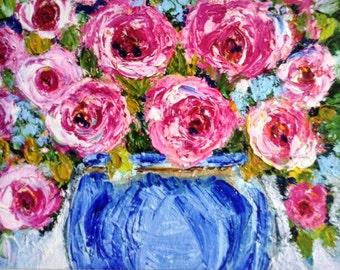 GIclee Print , 8 x 10  , vintage  roses