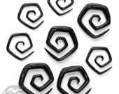 Octagon Horn Spirals - Sizes / Gauges (8G, 6G, 4G, 2G)