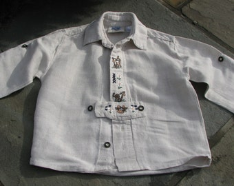 Vintage Baby shirt - German Shirt - 12 Months