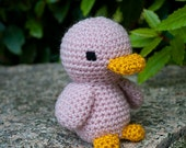 Pink duckling - perfect gift for babies