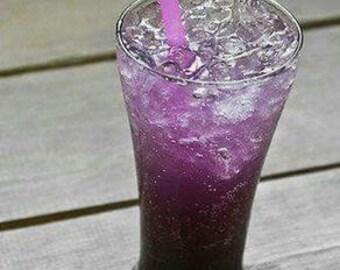 Purple Rain Candle made with Gel Wax