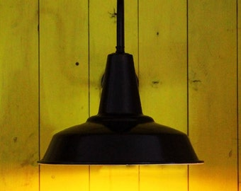 Hex Factory Industrial Wall Light