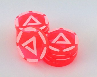 Android: Netrunner advancement tokens - 26 colours