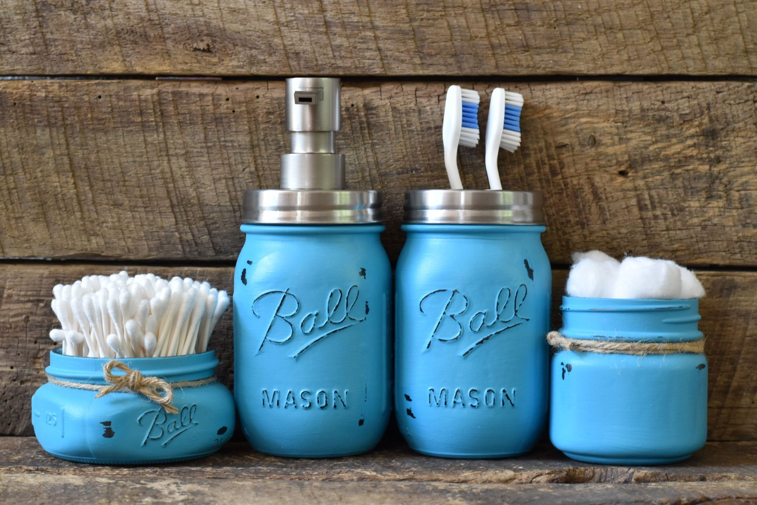 Mason Jar Bathroom Accessories Black Mason Jar Bathroom Set Mason Jar Bathroom Set Black