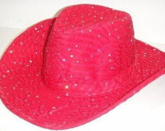Sparkle Western Style Hat