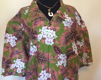 Vintage Hawaiian Shirt - XXL