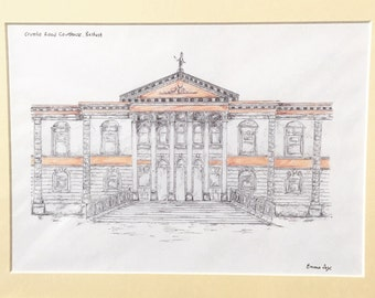 Crumlin Road Courthouse, Belfast Print