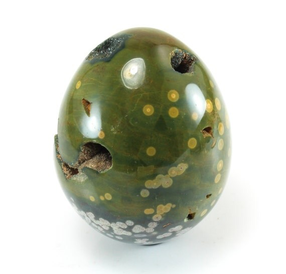 Ocean Jasper Egg, Polished, M-1498