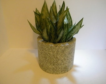 Planter/Garden Pot/ Granite Garden Planter/ Stone Planter