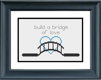 Build a Bridge of Love - Pocahontas - Disney - PDF Cross-Stitch Pattern