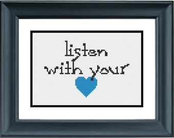 Listen With Your Heart - Pocahontas - Disney - PDF Cross-Stitch Pattern