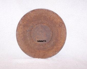 Vintage Antique Gold Pan, Gold Panning Pan, 1800's Montana Sampling Pan, Gold Mining, Prospecting, Gold Miner,