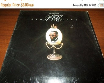 Save 30% Today Vintage 1975 Vinyl LP Record Ray Charles Renaissance In Shrink Excellent Condition 758