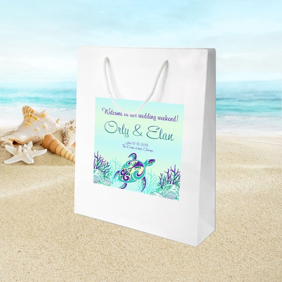 Beach Wedding Gift Bags For Guests : of towner bags goody or favor bags USD 15 00