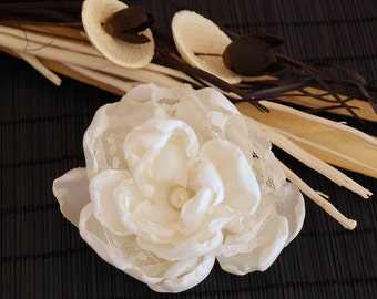 Hair flower for the wedding ,  hair blossom, Wedding  bride  headdress