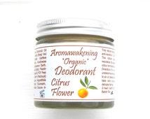 Organic Deodorant Natural Handmade Vegan Sensitive Skin 50ml / 1.75oz