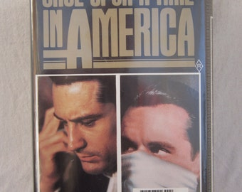 Once Upon A Time In America 2 Part - VHS Tape