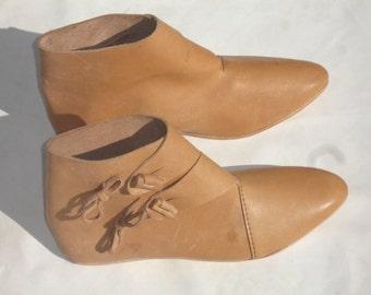 Jorvik Style Viking Boot - Leather - MIL428