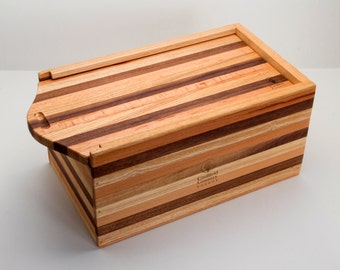 Bread Bin with Sliding Breadboard Lid