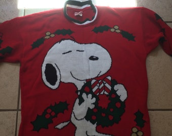 Ugly Christmas Sweater - Snoopy