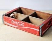 Caisse ancienne Coca-Cola...