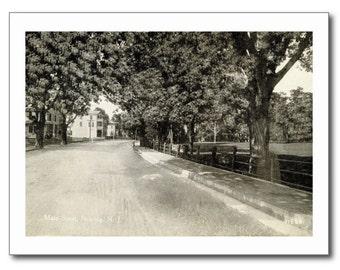Main St., Netcong, New Jersey NJ REPRO Vintage Postcard