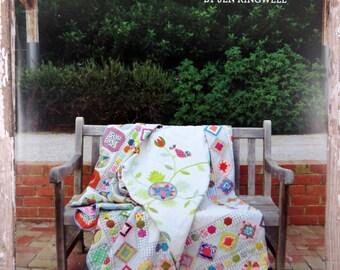 Happy Birds Quilt Pattern - Jen Kingwell - Jen Kingwell Designs - JKD 5484