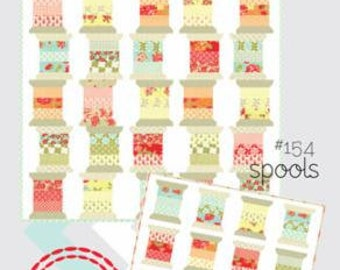 Spools Quilt Pattern - Camille Roskelley - Thimble Blossoms - TB #154