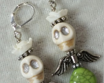 Katrina Day of the Dead Earrings