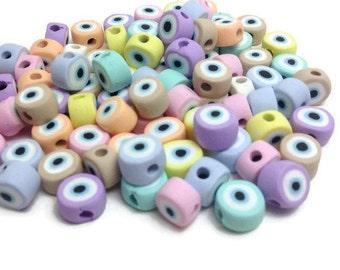 Evil Eye Decor, Good Luck Evil Eye, Evil Eye Beads, Greek Evil Eye Bead, Lucky Evil Eye Bead, Eye Modern, Evil Eye Charm, Evil Eye Favor
