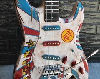 "The ""Freak"" Electric Guitar"
