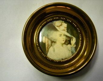 cameo portrait-cameo creation-Reynolds cameo-Elizabeth portrait-bedroom decor-boudoir-