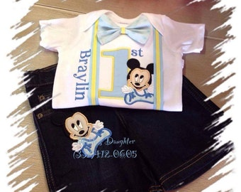 Mickey Mouse Boy's matching shirt and shorts