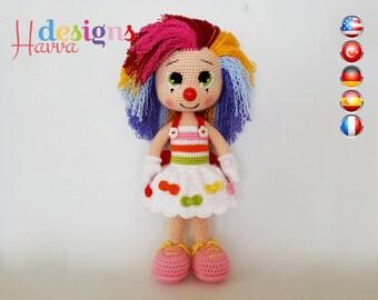 PATTERN - Miss Clown