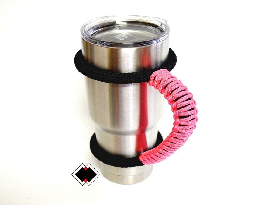 Yeti tumbler handle pink or custom handmade USA
