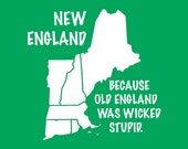 FUNNY TSHIRT new england cool mens womens kids youth ladies boston t shirt tee (also available on crewneck sweatshirts and hoodies) SM-5XL