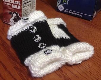 Knit Cow Baby Leggings