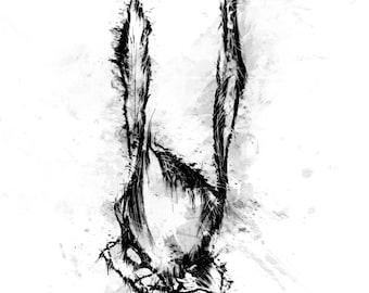 Leporidae A4 print