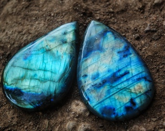 Labradorite Crystals for macrame or healing