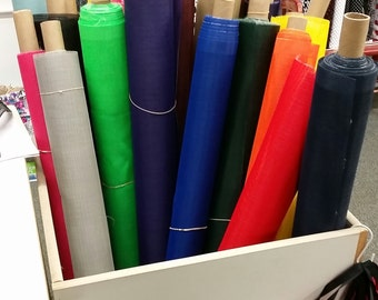 Mesh Vinyl - by the 1/2 yard - 16 colors available