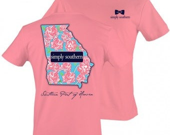Simply Southern State Shirt